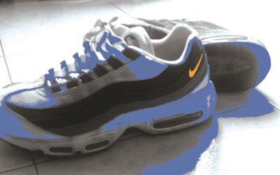 Nike Air Max 95 trainers shoes white inspirational blogger influencer picture