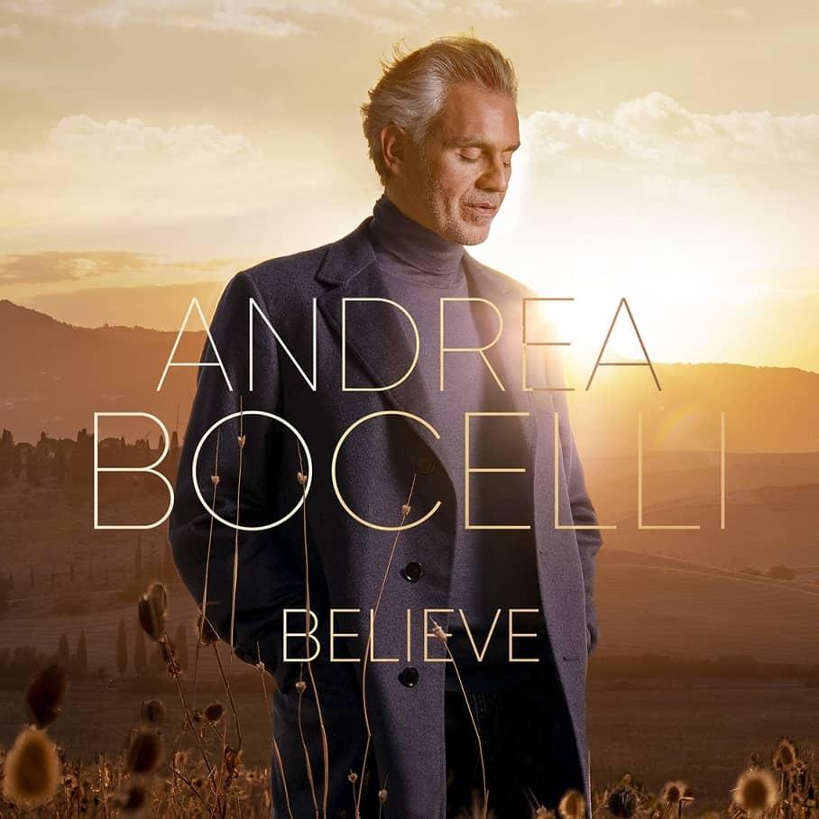 Andrea Bocelli, Believe album cover