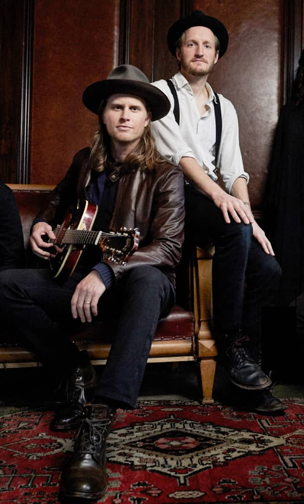 Jeremiah Fraites and Wesley Schultz of The Lumineers