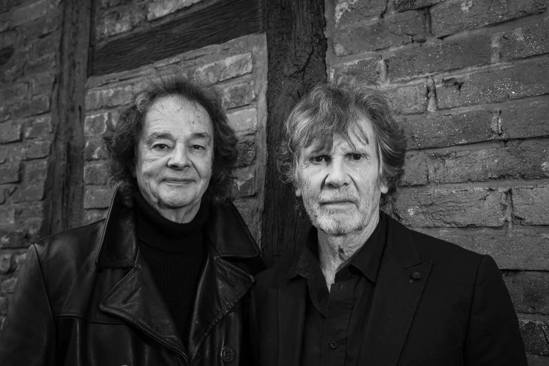 The Zombies today Colin Blunstone Rod-and Rod Argent By Payley Photographyr