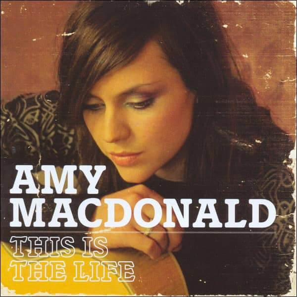 Amy Macdonald This is the life CD cover