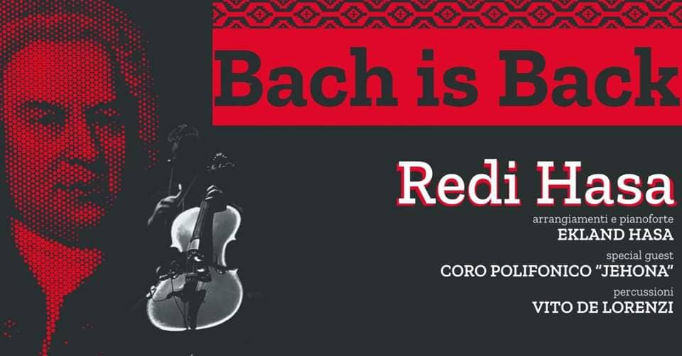 Bach is Back by Redi Hasa