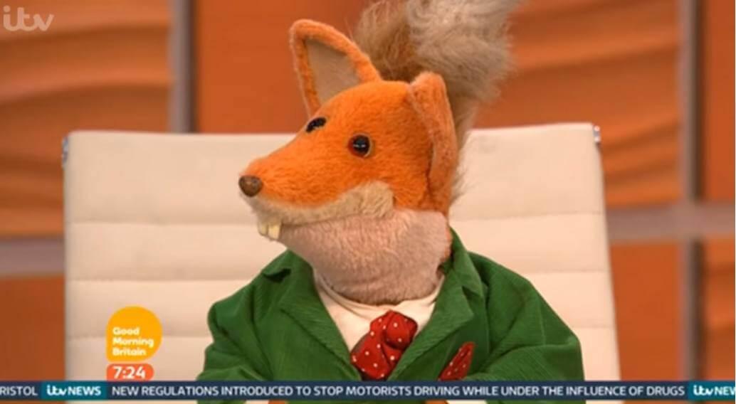 Basil Brush interview ITV