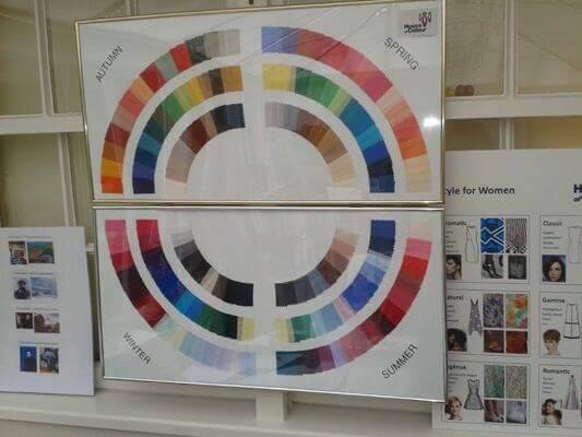 Season colour analysis test in London