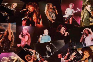 danny zelisko all excess, collage of musicians concert promoter book