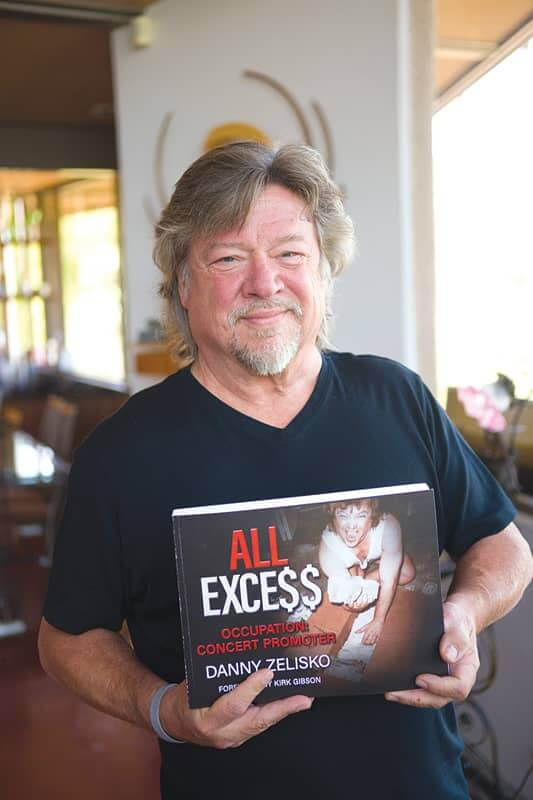 Danny Zelisko and his book All Excess © to the owners