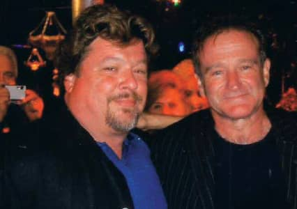 Danny Zelisko and Robin Williams in 2006 - © to the owners