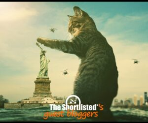 Fantasy cat with the Statue of Liberty