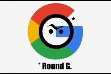 Google funny logo artwork