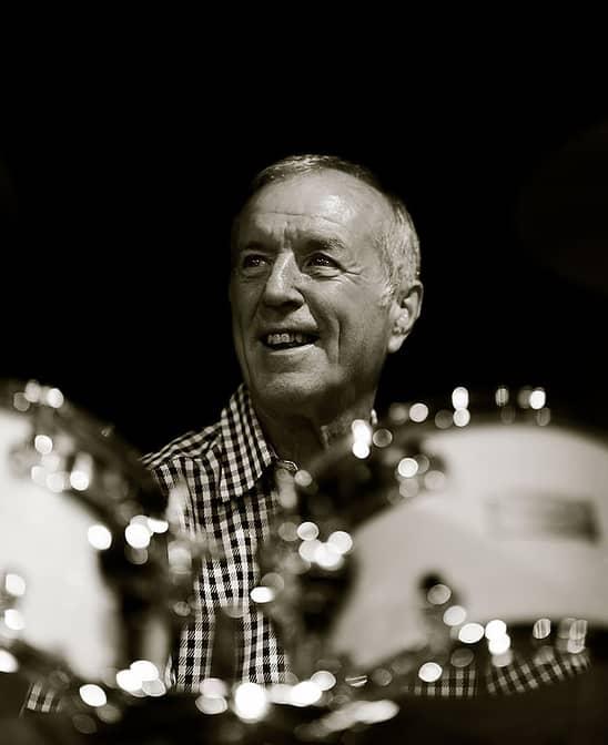 John Steel The Animals drummer by Richard Mountain