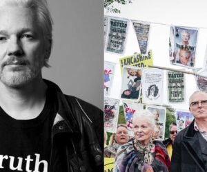 Vivienne Westwood and Joe Corré for Julian Assange