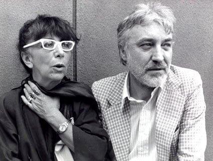 Lina Wertmüller and Enrico Job