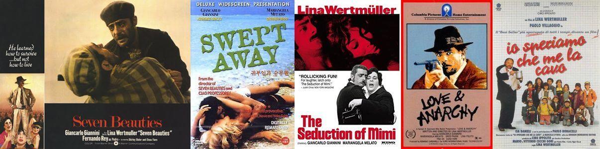 Lina Wertmüller movie posters