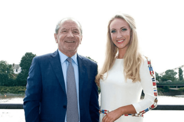 Dr Leah Totton Apprentice winner and Lord Sugar