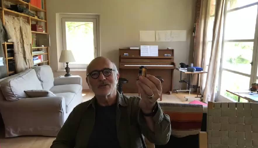 Ludovico Einaudi Zoom interview