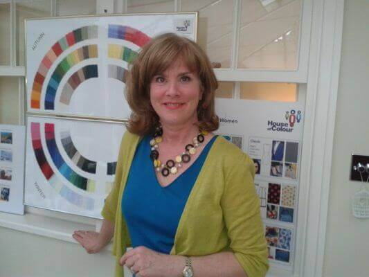 Maggie Robson color analysis test professional in London