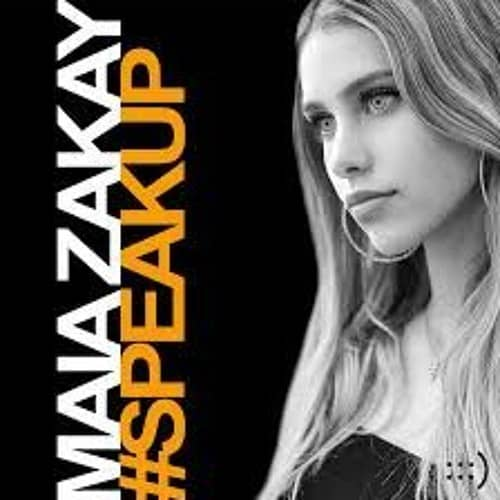 Maia Zakay #SpeakUp album cover