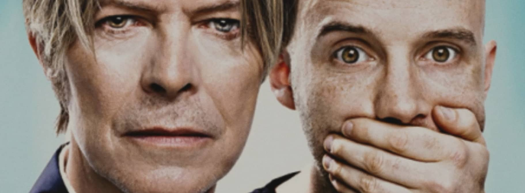 """Moby and David Bowie - Footage from Moby's documentary """"Moby Doc"""" - © to the owners"""