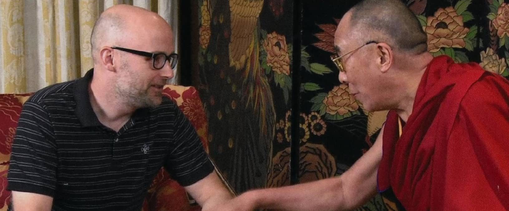 """Moby and the Dalai Lama - Footage from Moby's documentary """"Moby Doc"""" - © to the owners"""