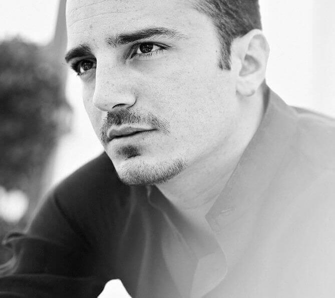 Nicolas Vaporidis sexy foto in bianco e nero by Andrea Massari