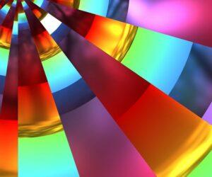 rainbow colors pattern