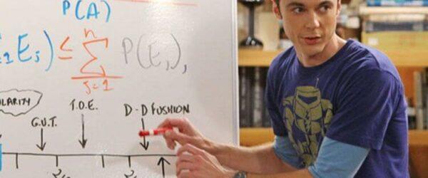 sheldon cooper big bang theory board