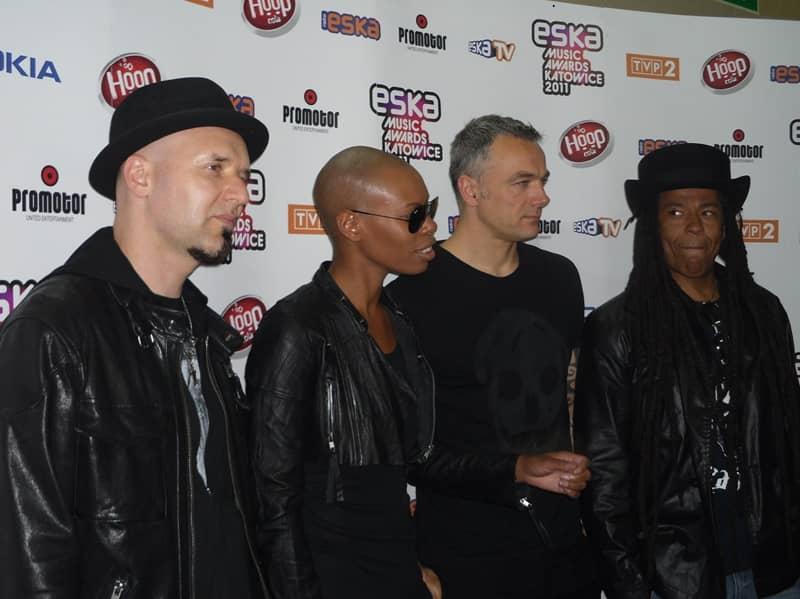 Skunk Anansie at the Eska Music Awards 2011 in Katowice, Poland, by Piotr Drabik ©