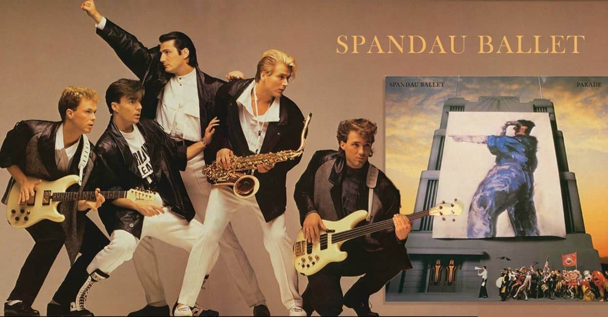 Spandau Ballet Parade cover artwork - copyright credit to the owners