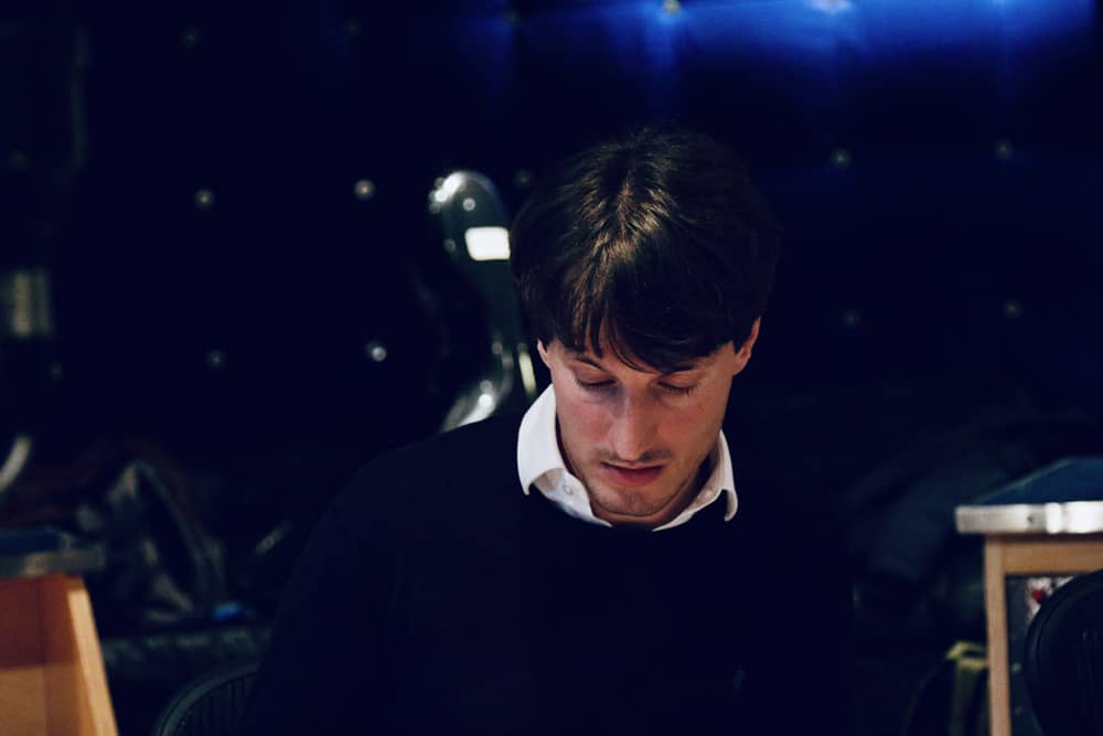 Composer Stefano Fasce at the London Metropolitan Studios, credit by Samira Oberberg