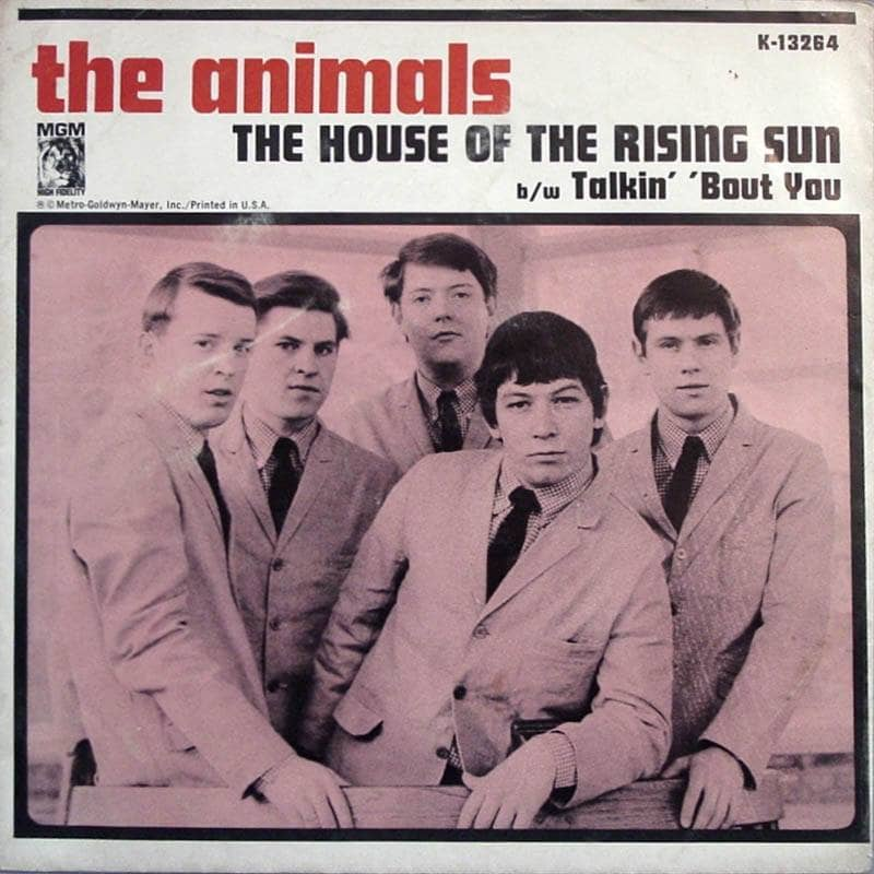 The Animals The House of the Rising Sun The Best of The Animals album cd cover