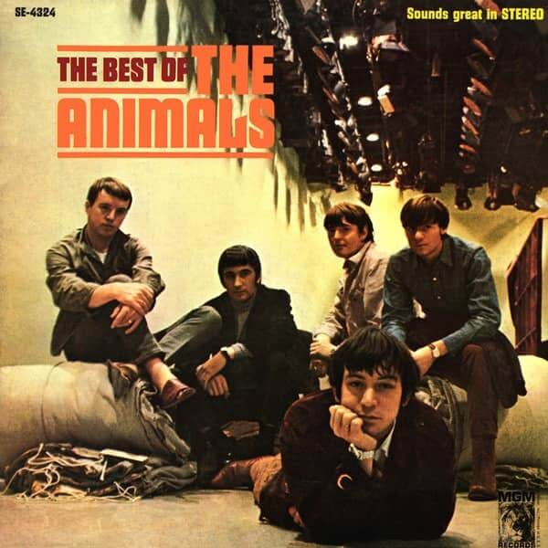 The Best of The Animals album cd cover