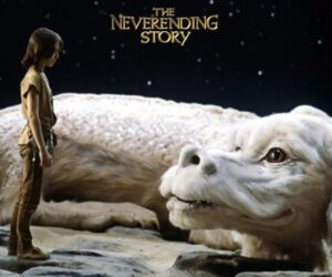 The Neverending Story poster Falcor Atreyu still