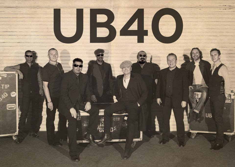 UB40 music band vintage band picture